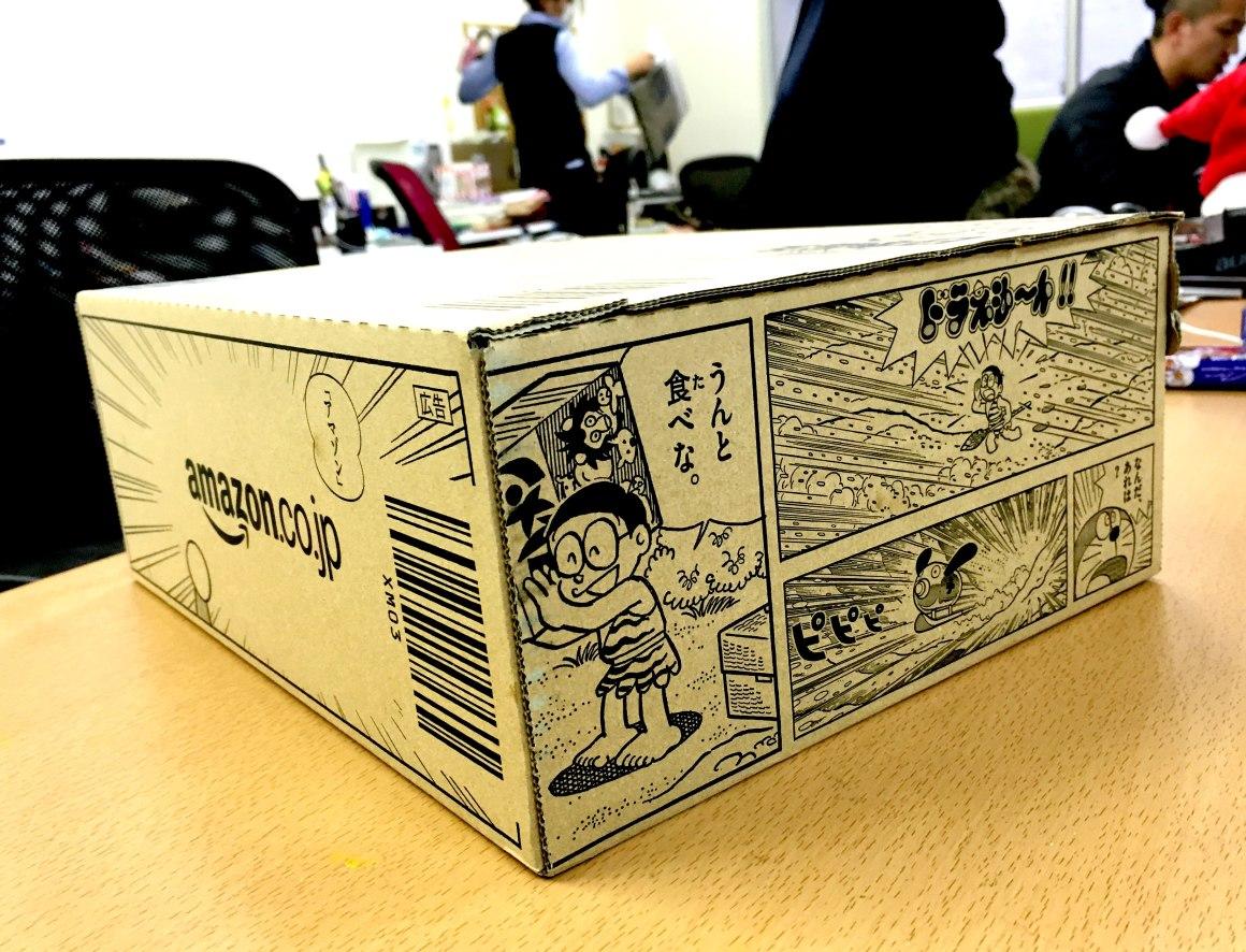 買い物をAmazonでしたら「ドラえもんラッキーBOX」という箱で届くかもしれないぞ!!