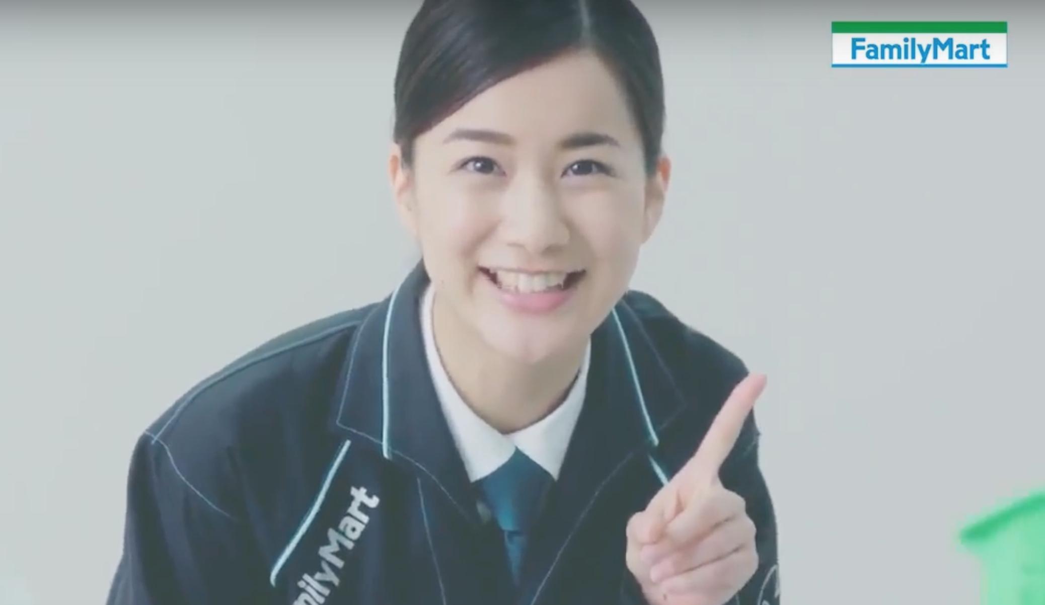 ファミリーマートCM2016夏の店員女優は誰?納富有沙をチェック!