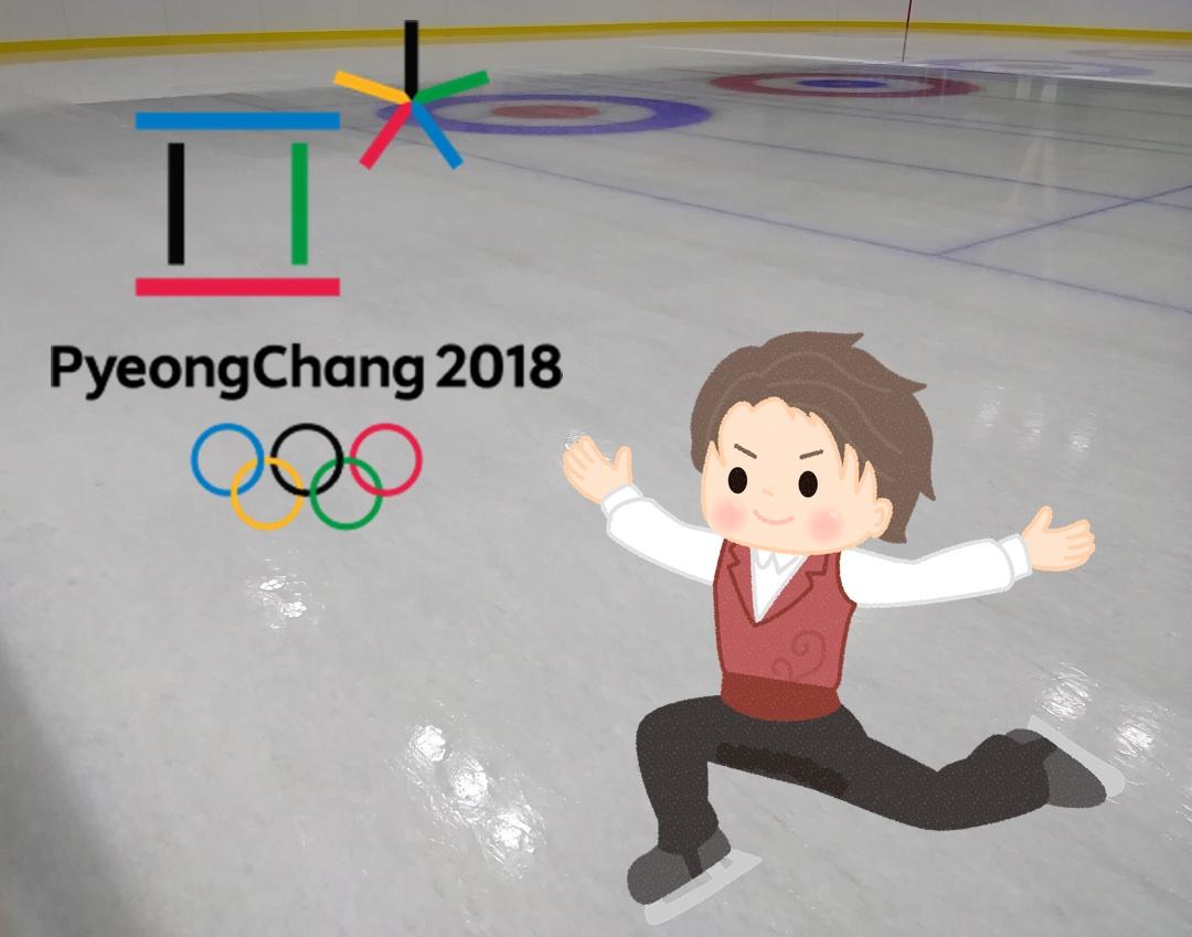 平昌オリンピック男子フィギュアスケートの日程や放送時間は?